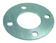 Flange Backing Ring Plated 75mm